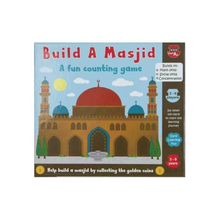 This multiplayer game is a great gift for siblings. It reinforces counting and numeracy skills and promotes the great social cause of building a masjid. Price: $17.50