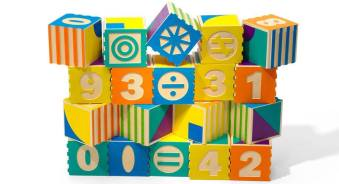 Another set of blocks from our high quality line. These math and patterning blocks help children visually explore numerical concepts. Price: $47.50