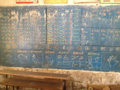These chalkboard displays are permanent