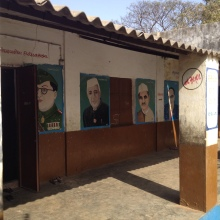 Paintings of prominent Indian historical figures