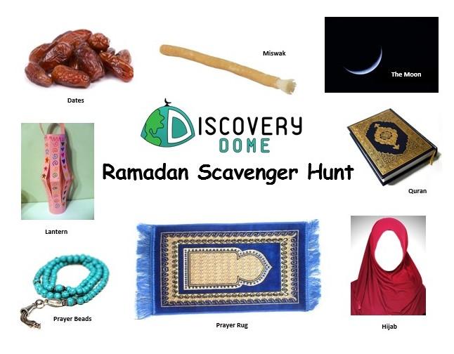 DD ramadan scavenger hunt